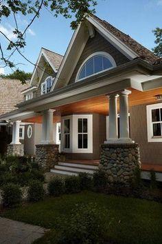 Deck colors Exterior - traditional - exterior - minneapolis - Stonewood, LLC