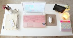 Charmaine's Posh & Plush Home Office — Desktops