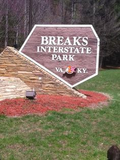 Breaks Interstate Park~camped here in the Fall. Beautiful!!