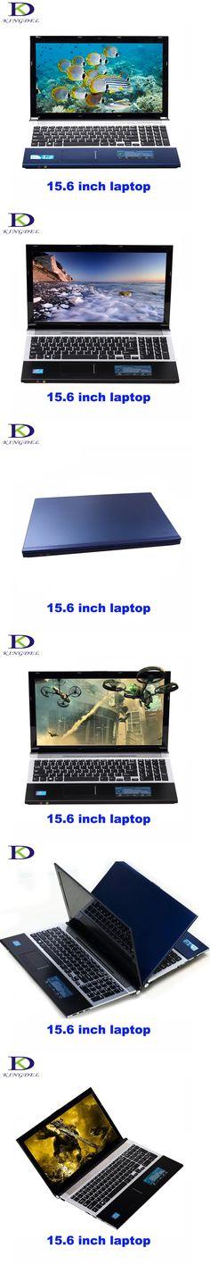 Kingdel 15.6 inch Notebook Air Intel GPU Core J1900 CPU 4GB RAM 500G HDD Windows7 Laptop Bluetooth HD Graphics Multi Card Reader
