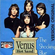 """The Shocking Blue's one hit wonder, """"Venus"""" Sound Of Music, Kinds Of Music, Rock N Roll Music, Rock And Roll, Mariska Veres, Greatest Album Covers, Die Beatles, Shocking Blue, One Hit Wonder"""