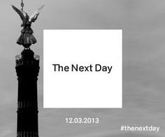 #thenextday #David #bowie