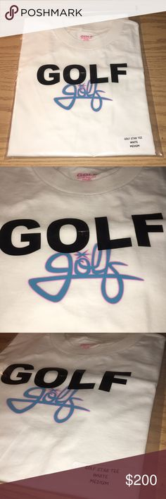 f672350f Golf Wang Star Tee Brand new in package! Sold out online and no longer  listed ! Tyler the Creator's company for those who do not know !