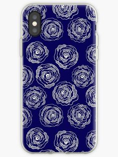 Buy 'Doodle Roses' Navy Blue and White iPhone case by Notsundoku | Redbubble. A repeat pattern of hand drawn doodle roses. #repeatpattern #patterns #roses #doodles #doodleart #flowers #handdrawn #Notsundoku # Redbubble #iphonecases #iphonecovers #phonecases #phonecovers #iphoneaccessories #phoneaccessories