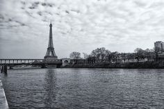 Tour Eiffel behind the Bir-Hakeim bridge by Christian Delvaux on 500px