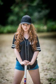 tumblr girl baseball ensaio teen
