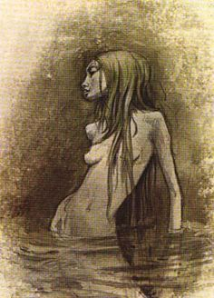 Undine by Brian Froud  (I have loved this sketch for years!)