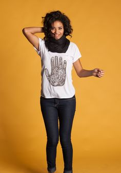 """""""Life is about love."""" Love henna, love this shirt! Every purchase gives $7 back to the cause of the week. Can't buy? Click the send button above & email this pin to 10 friends! ► http://www.sevenly.org/product/52684ede1816b0d20300000b?cid=InflPinterest0005Joanna"""