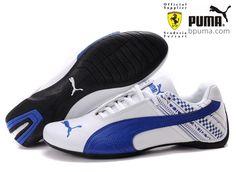 Buy Puma Ferrari Drift Cat Mens White Blue Shoes Christmas Deals from  Reliable Puma Ferrari Drift Cat Mens White Blue Shoes Christmas Deals  suppliers. fe51990e1c