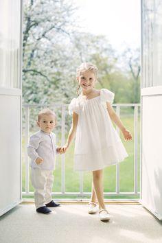 Zomerse foto's van Estelle en Oscar (Zweden)
