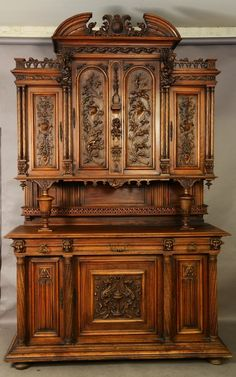 French Renaissance Revival Style Sideboard