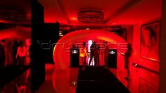 6m H-Walls in action with our Luna structure & Red LED in-wall lighting kit. #events #dryspaceco #popup #inflatablewalls — at JW Marriott Marquis Hotel Dubai.