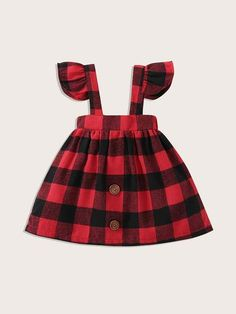 Baby Outfits, Kids Outfits, Cute Flower Girl Dresses, Dresses Kids Girl, Plaid Dress, Belted Dress, Baby Girl Belts, Toddler Dress, Baby Dress