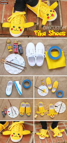 DIY Pika-shoes! | Wholesale Halloween Costumes Blog