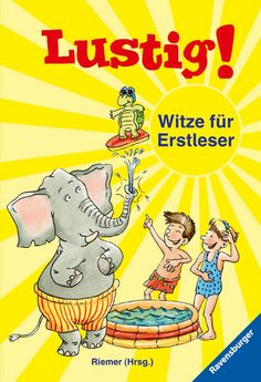 Lustig! Witze für Erstleser, £5.95 Book Activities, Activity Books, Nonfiction Books, Comic Books, Handmade Gifts, Comics, Children, Ravensburger, Things To Sell