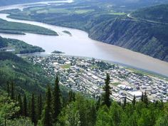 Dawson City, Yukon. National Geographic has a documentary about Dawson during the gold rush in 1890's.