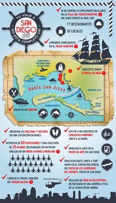 Si piensa en irse de vacaciones a San Diego, su viaje no estará completo sin un paseo por la bahía de San Diego descubriendo todas las atracciones que le ofrece. Diviértase y aproveche su estancia en uno de nuestros hoteles con vistas a la bahía.     http://www.espanol.marriott.com/hotels/travel/sandt-san-diego-marriott-marquis-and-marina/