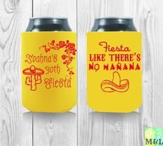 Destination Las Vegas Bachelor Koozies Customize by MintandLemon Funny Birthday Gifts, 50th Birthday Party, It's Your Birthday, Wedding Koozies, Best Part Of Me, Drink Sleeves, Party Favors, Template, Bobby