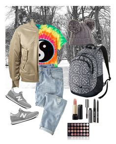 """Let's just get this semester over with!"" by kokostylz on Polyvore featuring Pottery Barn, Wrap, adidas Originals, New Balance, BCBGMAXAZRIA, NIKE, Lancôme, Bobbi Brown Cosmetics and Shany"
