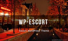 Escort WordPress Theme