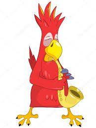 Картинки по запросу попугай музыкант вектор