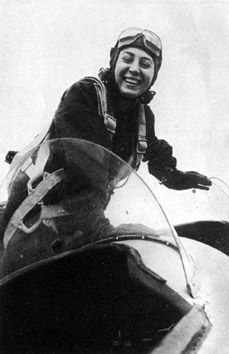 Fighter pilot Yekaterina Budanova http://ww2db.com/person_bio.php?person_id=F645