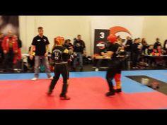 Fibo Kwon Cup 11.4.2015 LK Women -55 kg Eva Kömle vs. Gina-Celine Kelch 1/2 - YouTube