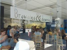 Brownies & DownieS: Cape Town's first coffee-shop and training centre for people with intellectual disabilities