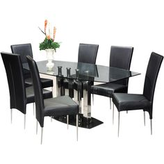 Somette Bella Black Marble Dining Table - Overstock Shopping - Great Deals on Somette Dining Tables