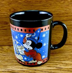 Walt Disney Fantasia Mug Cup Collectable Mickey Mouse kiln craft England brooms Fantasia Disney, Mug Cup, Walt Disney, Mickey Mouse, Cups, England, Crafts, Vintage, Ebay