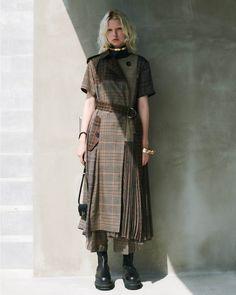 Givenchy, Valentino, Emilio Pucci, Jil Sander, Modern Outfits, Outfits For Teens, Tartan Fashion, Fashion Outfits, Kenzo