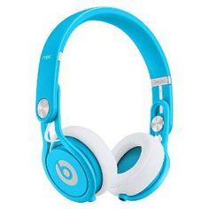 Beats by Dr. Dre Mixr Headphones - Neon Blue