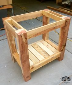Rustic Patio Furniture Diy Ana White New Ideas Diy Bathroom Vanity, Rustic Bathroom Vanities, Shiplap Bathroom, Diy Vanity, Rustic Bathrooms, Rustic Vanity, Woodworking Projects Diy, Diy Wood Projects, Woodworking Tools