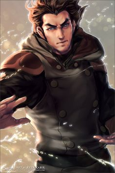 Amon from Legend of Korra. Who knew he was so good looking under the mask? Though, Steve Blum could make me fall in love with any character he voices.