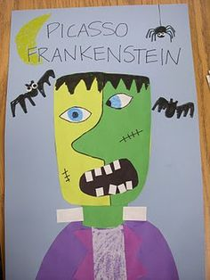 ARTASTIC! Miss Oetken's Artists: PiCaSsO FrAnKeNsTeiNs!
