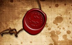 Wax Seal Stamp Photoshop Tutorial