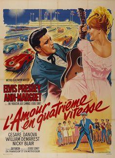 Viva Las Vegas (French) 27x40 Movie Poster (1964)