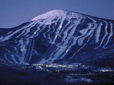 Sugarloaf is the largest ski resort east of the Rocky Mountains with over 1,000 acres of inbound terrain and 146 trails served by 12 lifts.