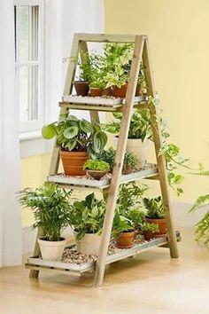 Ideas para reutilizar escaleras viejas