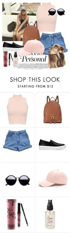 Out with Lottie T!! by hannancat on Polyvore featuring WearAll, Bill Blass, MICHAEL Michael Kors, Kylie Cosmetics and Olivine