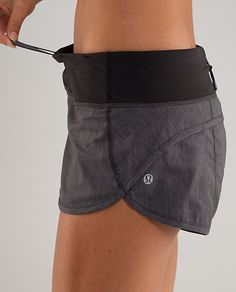 Lululemon Speed Shorts  Click the website to see how I lost 19 pounds in one month with free trials