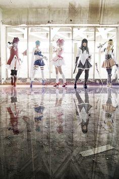 Sayaka Miki | Akatsuki Tsukasa - WorldCosplay. I would love to do a Madoka Magica group