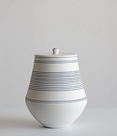 Lidded Pot by Yasuko Ozeki