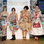 Eco-Friendly Fashions Made From Recycled Newspaper