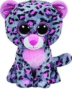 4d281d73d07 Ty Beanie Boos Gray Cat Big Eyes Plush Toy Stuffed Animals 15cm 5.9in