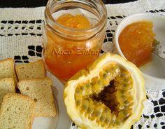 Geleia de maracujá » NacoZinha - Blog de culinária, gastronomia e flores - Gina