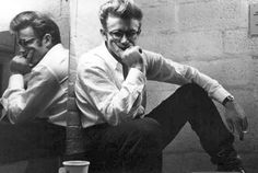 Mmm: James Dean in glasses