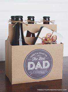 DIY Gift - Beer Printable