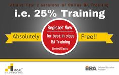 Business Analyst Certification Training for CBAP by MCAL - IIBA EEP in Pune, Mumbai, Delhi