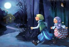Kai Fine Art is an art website, shows painting and illustration works all over the world. Children's Book Illustration, Character Illustration, Kim Min Ji, Hansel Y Gretel, Enchanted Wood, Illustrations And Posters, Pictures To Draw, Faeries, Childrens Books
